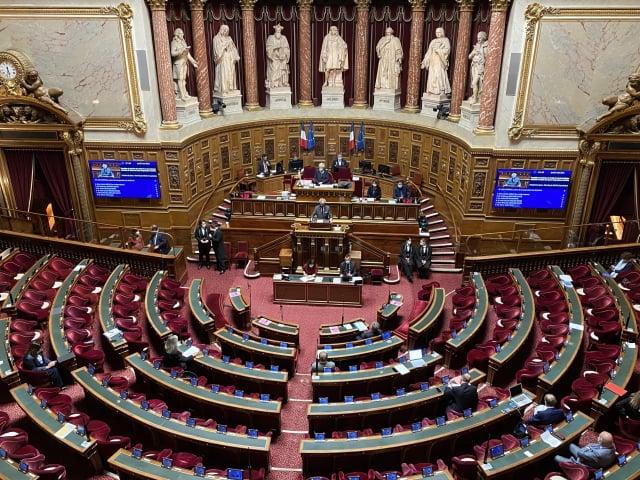 法國參議院6日晚間全數一致通過「臺灣參與國際組織工作」決議案,具有歷史意義。(中央社)