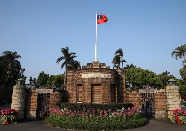 圖為臺灣大學校門口。(中央社)