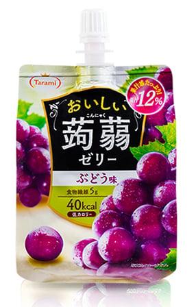 蒟蒻果凍含有膳食纖維。(POYA寶雅提供)