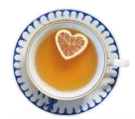 漂浮心型檸檬紅茶。(POYA寶雅提供)