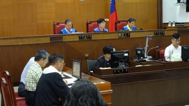 台灣陪審團協會12日召開記者會指出,模擬法庭的運作猶如法學教室,失去民眾參審的初衷。圖為法院示意圖。(中央社)