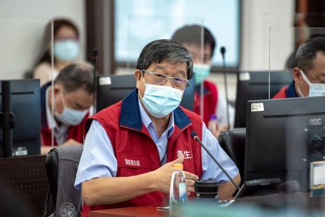 衛生局長王文彥表示,截至5月14日共計接種2萬3,385劑疫苗。