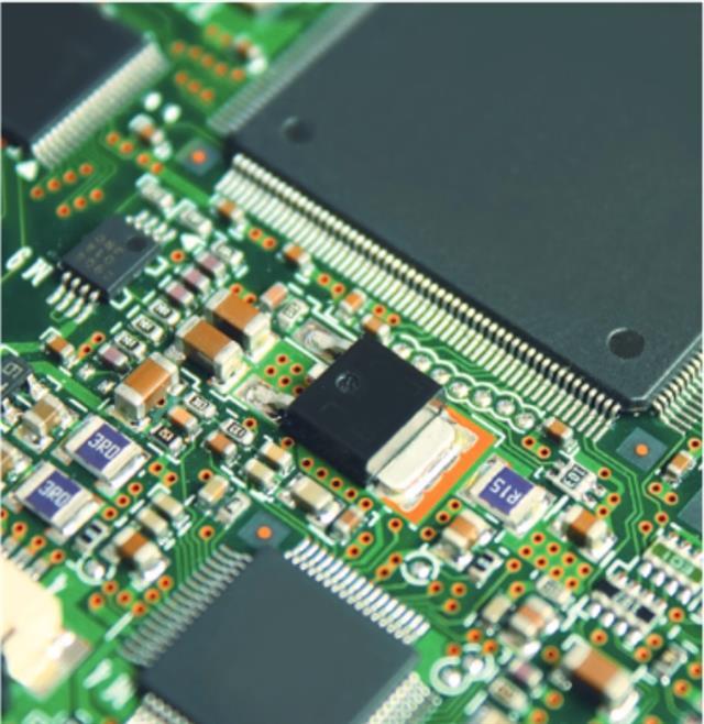 晶片示意圖。(123RF)