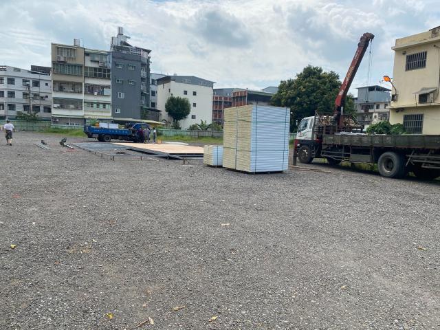 衛生局預計於龜山區山德里山鶯路及萬壽路交叉處空地設置檢疫站。