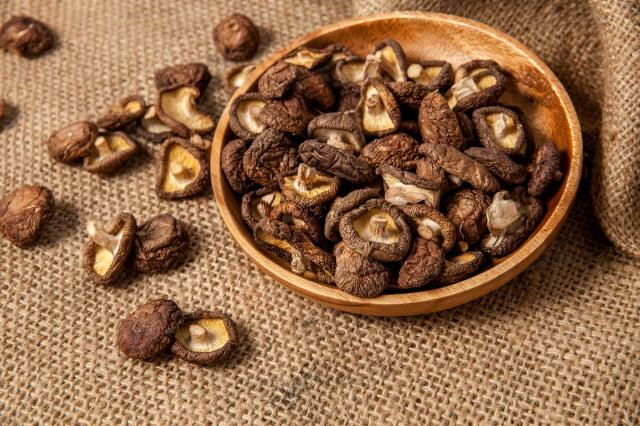乾香菇可久放,食用可提高身體免疫力。(Shutterstock)