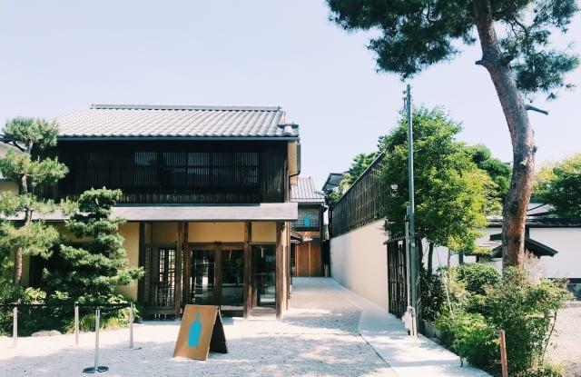 百年京町屋咖啡館「藍瓶咖啡」在日本享譽盛名。(山岳文化提供)