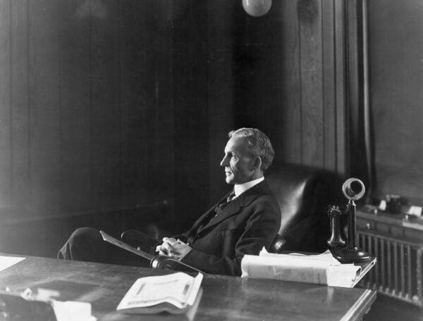 發明家和實業家亨利‧福特(Henry Ford, 1863~1947)。(Hulton Archive/Getty Images)