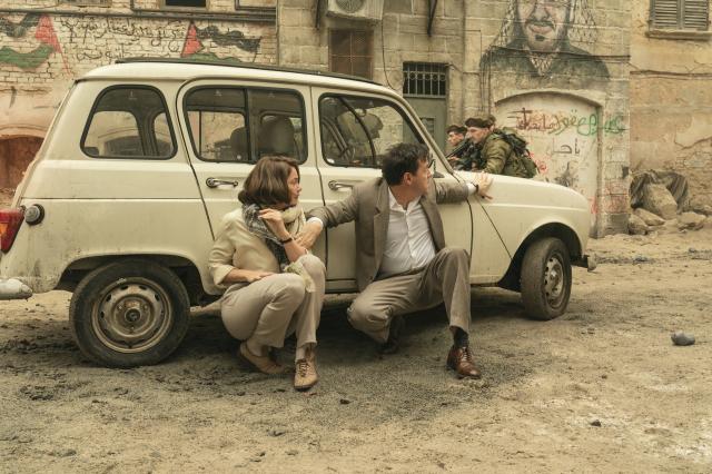 《奧斯陸密談》劇照。(HBO提供)