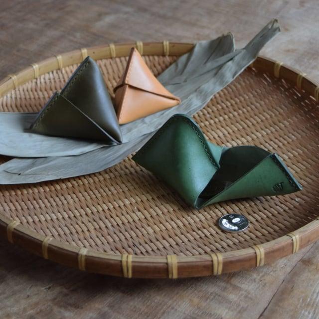 維妙維肖的粽子零錢包。(Pinkoi提供)