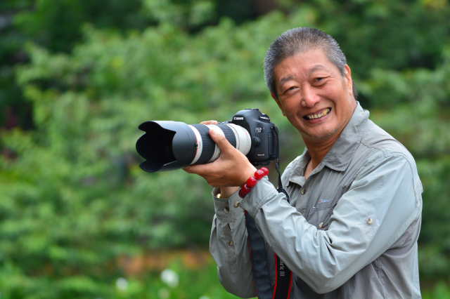 攝影家顏炯彬。(顏炯彬提供)