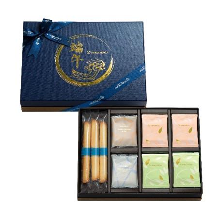 臺灣限定新口味「雙層焙茶白克力」、「雙層抹茶巧克力」薄片。(遠東百貨提供)