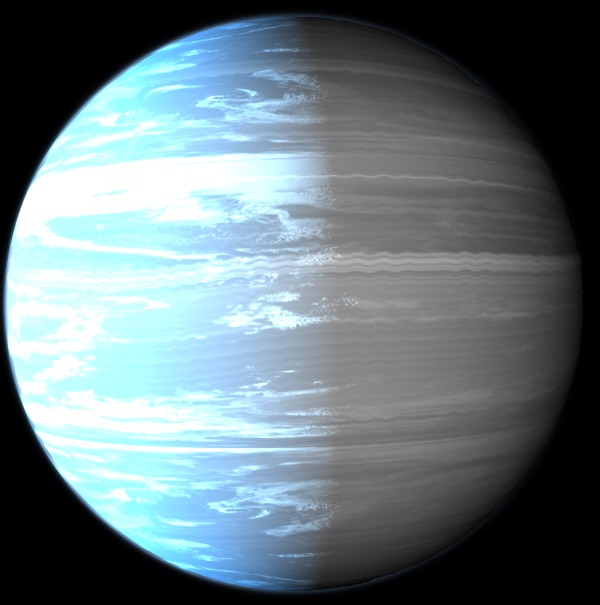 圖為WASP-76b星。(Trurle/維基)