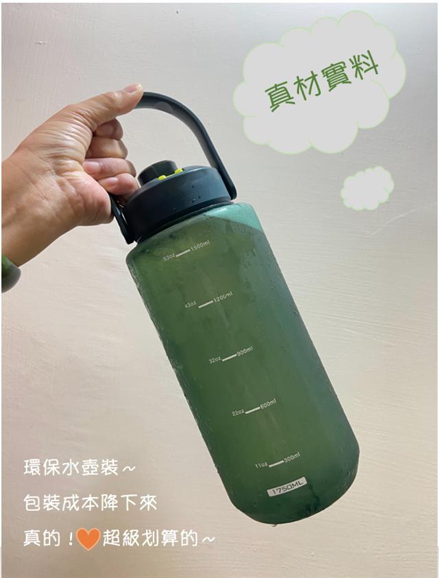 環保水壺裝,使用方便、降低成本對消費者來說超划算!  (燕銈巢提供)