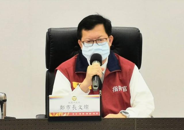 桃園市長鄭文燦指出,桃園美容美髮美甲停業是因為有群聚風險。(桃園市府新聞處提供)