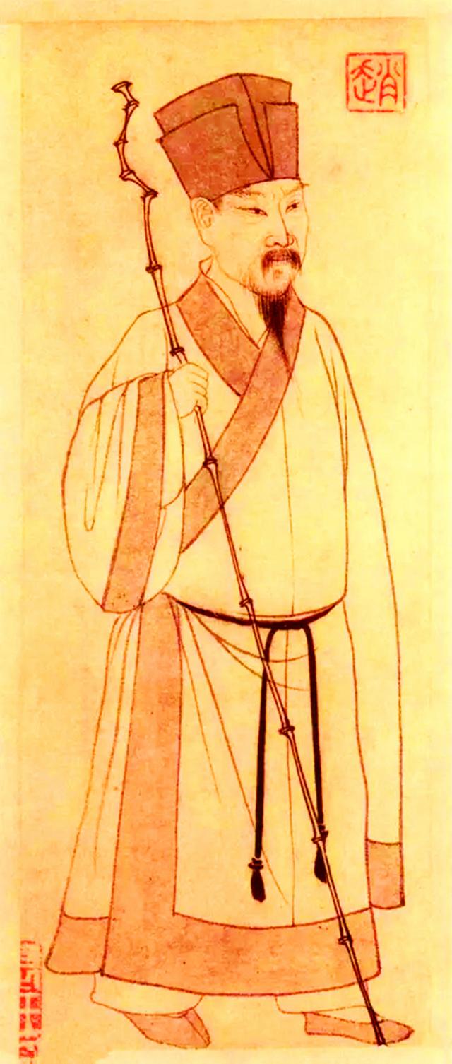 蘇軾,元趙孟頫繪。(公有領域)