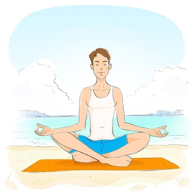 打坐冥想,也是平靜情緒、紓解壓力非常好的方式。有大量研究證實,這一靜一動的方法,都能顯著提升身體的免疫功能。(Fotolia)