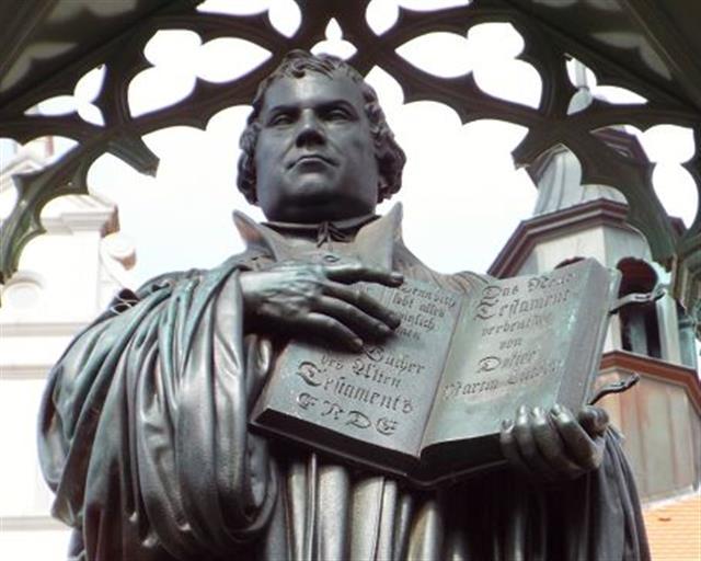 馬丁‧路德雕像。(123RF)