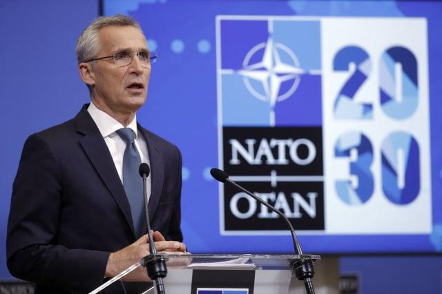 北大西洋公約組織祕書長史托騰柏格說,北約應制定更強有力的政策,應對中共威脅。(OLIVIER HOSLET/POOL/AFP via Getty Images)