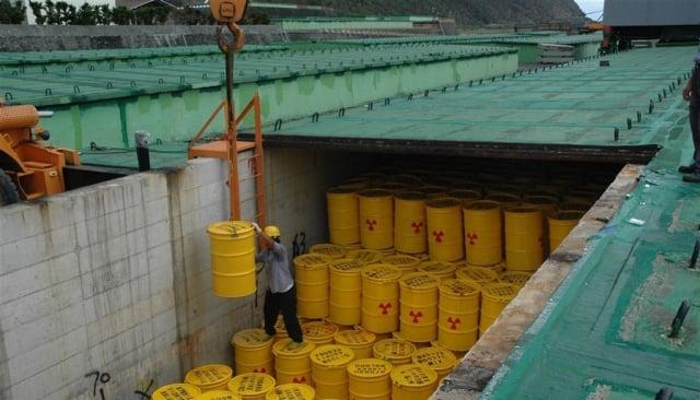 蘭嶼核廢料貯存場。(中央社)