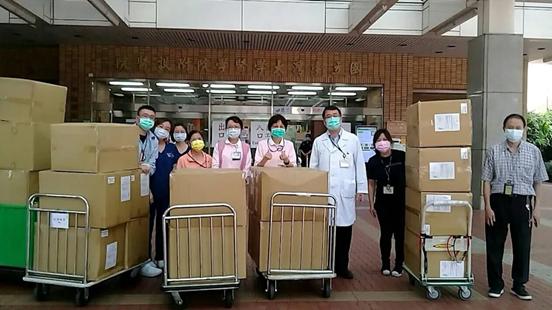 109C班日前發動全班捐款助醫護,短短3天集資近300萬元。(布爾喬亞公關提供)
