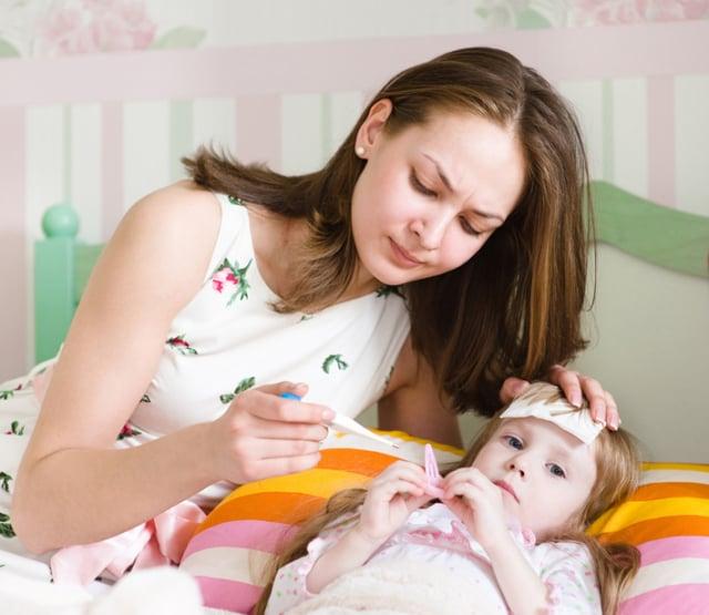 幼兒急疹,又稱玫瑰疹,是2歲以下幼兒裡常見的一種急性發熱、發疹的疾病。四季都可能發病,多數出現在夏末入秋的時候。(123RF)