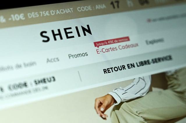 中國網購平臺「SHEIN」正面臨多個商標和知識產權侵權訴訟。(PHILIPPE LOPEZ/AFP via Getty Images)