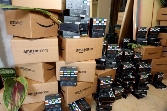 6月21日,亞馬遜開始一年一度的「黃金日」促銷活動。示意圖。(Rachel Murray/Getty Images for Amazon)