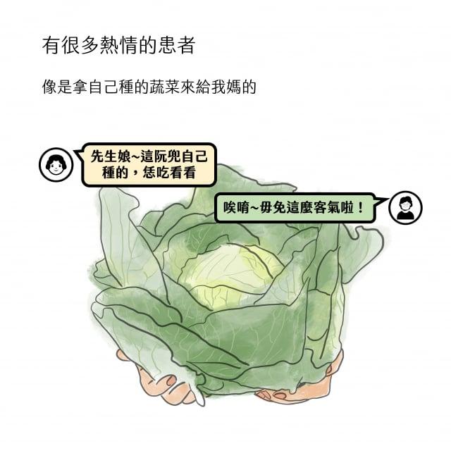 包心菜故事3。(中醫四物所提供)
