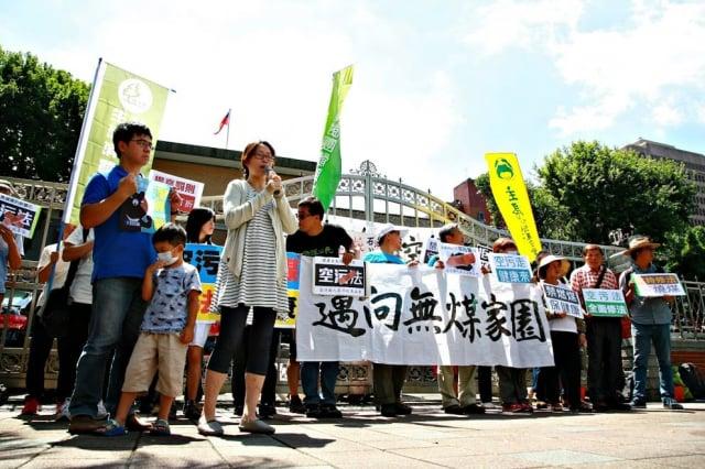 中部環團發文指出,盧市長卻用不當連結,誤導臺中市民反對台中電廠減污轉型。