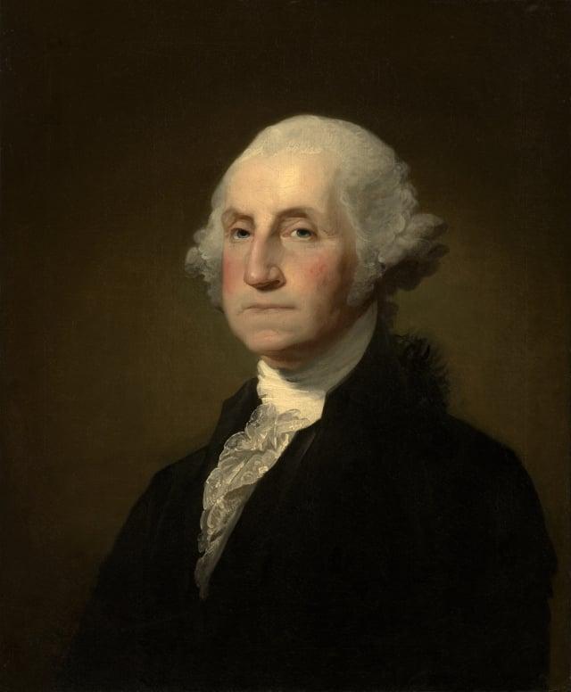 美國第一任總統喬治.華盛頓。(維基百科)
