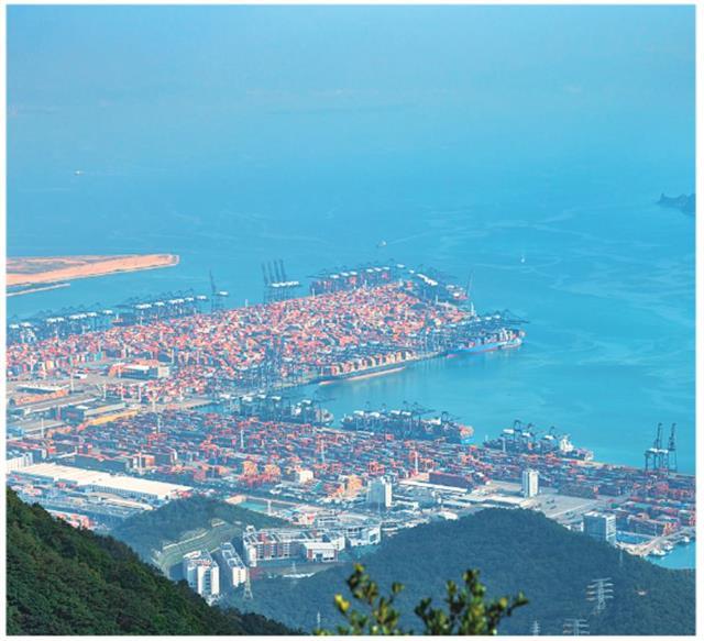 位於深圳的鹽田港口。(123RF)