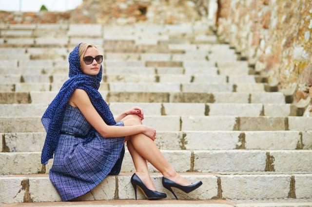 做自己的穿搭就是個人風格。(shutterstock)