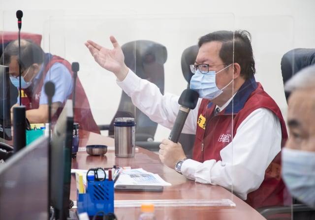 桃園市長鄭文燦指出,桃園護理之家住民110位採檢結果均為陰性。(桃園市府新聞處 提供)