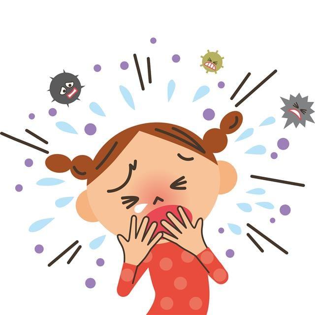 孩童及青少年族群,最常見的慢性病,則是過敏性鼻炎及氣喘。家長千萬別輕忽!(123RF)