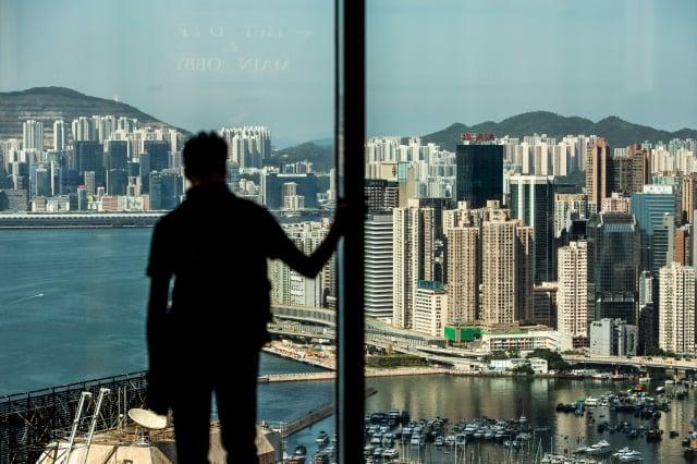 隨著時間的推移,香港和中國的界限正在快速消失。圖為香港一景。(ISAAC LAWRENCE/AFP via Getty Images)