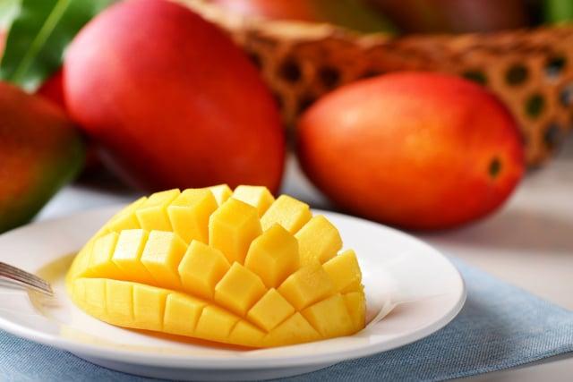 芒果到了小暑正是盛產季。(攝影/龔安妮)