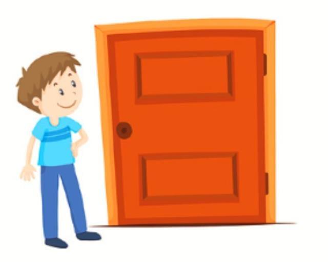 A door is between us. Open up!(123RF)