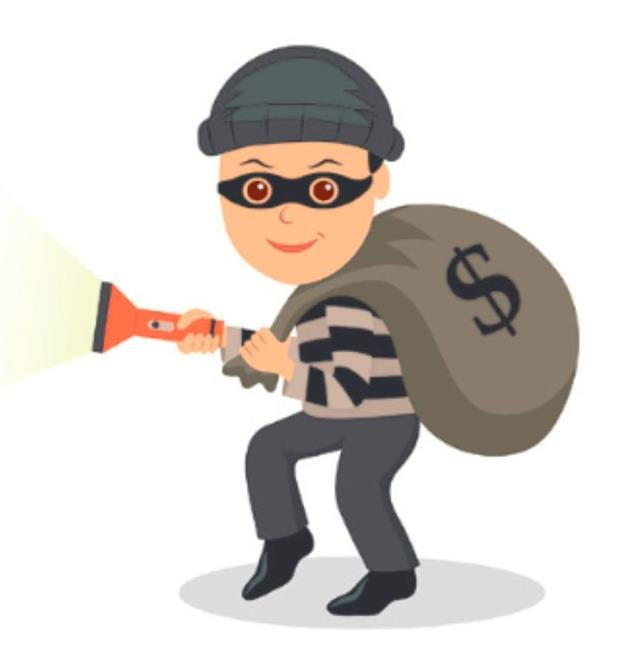 The thief stole a valuable painting rom the museum.(123RF)