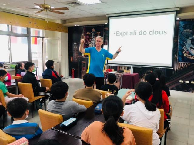 英語互動式教學(資料照)。