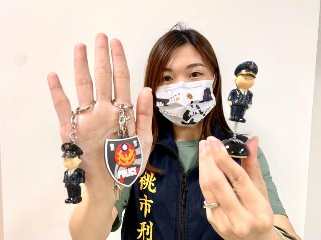 龜山警分局青春熱血繪畫活動開跑囉。(桃園市龜山警分局提供)