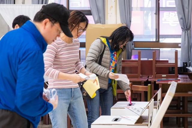 圖為2020年臺灣總統大選及立委選舉。(記者陳柏州/攝影)