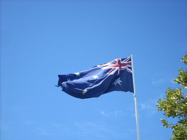 圖為澳洲國旗。(Pixabay)