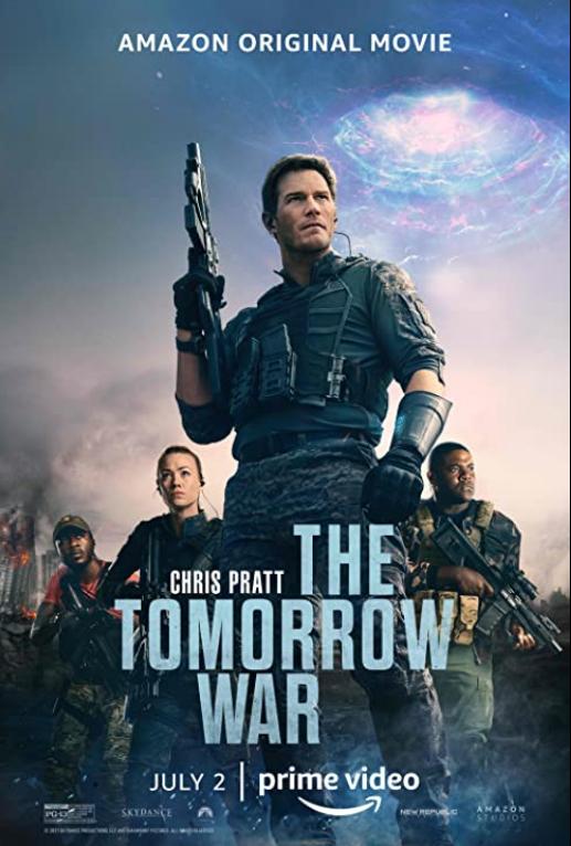 《明日戰爭》電影海報。(Amazon Studios提供)