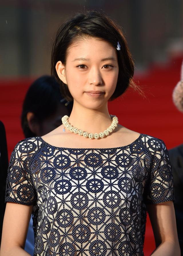 日本演員森川葵資料照。(Atsushi Tomura/Getty Images)