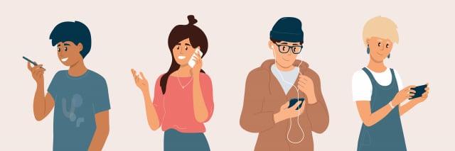 接觸讓人上癮的活動的次數越多,出現問題的機率就越高。給青少年使用智慧型手機之前,家長需要注意哪些方面。(123RF)