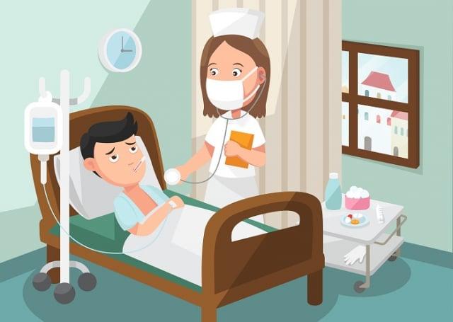 醫護人員盡心盡力照顧患者。(123RF)