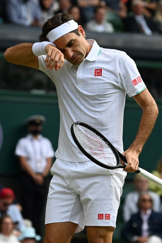 費德勒,圖為資料照。(GLYN KIRK/AFP via Getty Images)