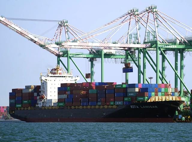 上半年迄今國內進出口均創新高。(中央社)