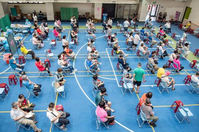 桃市75歲以上接種率全國第一,7月底可望達25%。