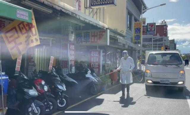 彰化縣一名確診者曾至屏東,屏東縣政府公布足跡並完成相關環境消毒作業。